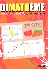 Dimathème terminale STG, toutes sections