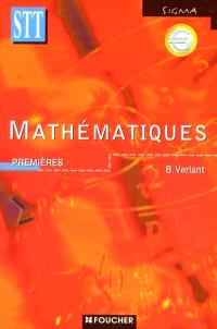 Mathématiques : premières STT