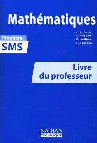 Mathématiques 1re SMS : livre du professeur