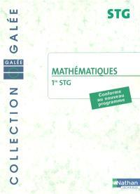 Mathématiques 1re STG : pochette de l'élève