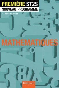Mathématiques première ST2S : nouveau programme