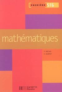 Mathématiques première STG