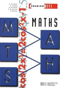 Mathématiques, 1re STI