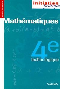 Mathématiques, 4e technologique