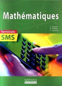Mathématiques, terminale SMS : livre de l'élève