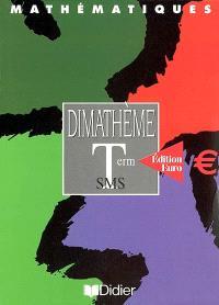 Mathématiques, terminales SMS