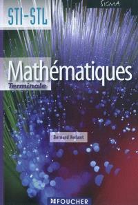 Mathématiques, terminales STI, STL : livre de l'élève