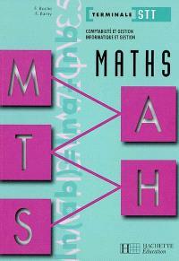 Maths, terminale STT comptabilité et gestion, informatique et gestion