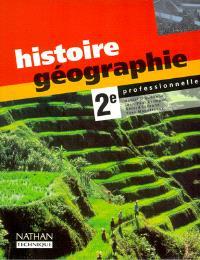 Histoire-géographie, 2de professionnelle