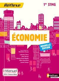 Economie, 1re STMG : i-manuel, livre + licence élève