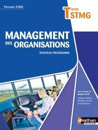 Management des organisations, terminale STMG : nouveau programme