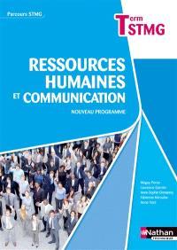 Ressources humaines et communication, terminale STMG : nouveau programme