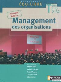 Management des organisations, terminale STG