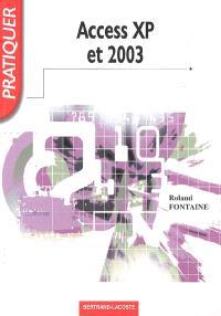 Access XP et 2003