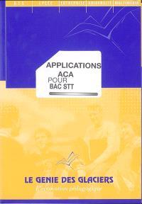 Applications ACA pour bac STT
