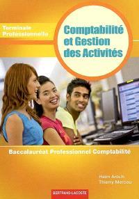 Comptabilité et gestion des activités, terminale, baccalauréat professionnel, comptabilité