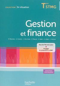 Gestion et finance, terminale STMG : manuel de l'élève