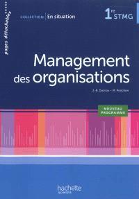 Management des organisations 1re STMG : nouveau programme