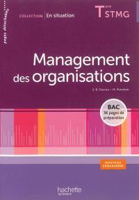 Management des organisations terminale STMG : nouveau programme