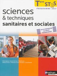 Sciences & techniques sanitaires et sociales, terminale ST2S : programme 2013