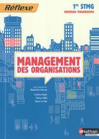 Management des organisations, 1re STMG : nouveau programme