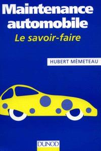 Maintenance automobile : le savoir-faire