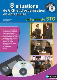 8 situations de GRH et d'organisation en entreprise en terminale STG