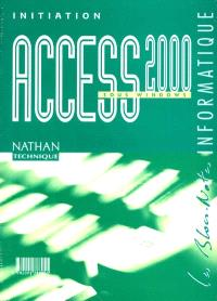 Access 2000 : bloc-notes, initiation