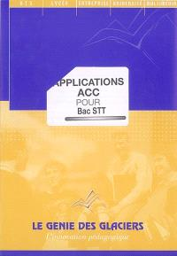 Applications ACC pour bac STT