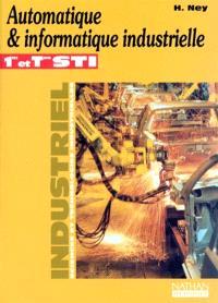 Automatique et informatique industrielle, 1re et terminale STI