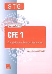 CFE 1 : comptabilité et finance d'entreprise : terminale STG