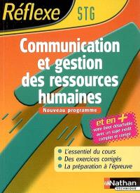 Communication et gestion des ressources humaines STG : nouveau programme