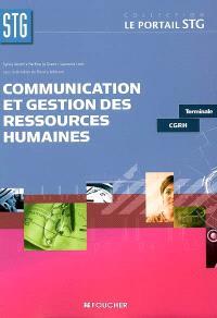 Communication et gestion des ressources humaines STG terminale CGRH