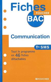 Communication terminale SMS