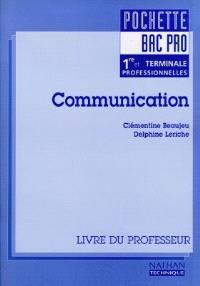 Communication, bac pro