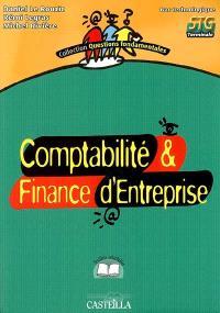 Comptabilité & finance d'entreprise, bac technologique, STG terminale : feuillets détachables