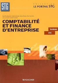 Comptabilité et finance d'entreprise terminale STG CFE