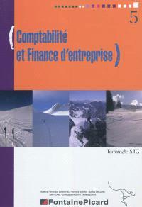Comptabilité et finance d'entreprise, Terminale STG