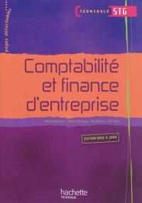 Comptabilité et finance d'entreprise, terminale STG : livre de l'élève