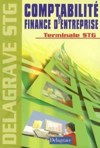 Comptabilité finance d'entreprise terminale STG