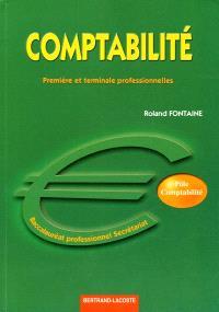 Comptabilité, baccalauréat professionnel secrétariat : première et terminale professionnelles