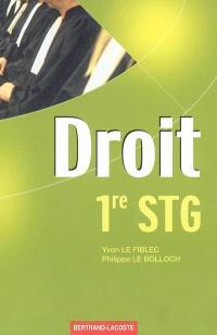 Droit 1re STG