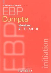 EBP comptabilité : versions 6, 7, 7.5, 8 : initiation