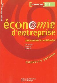 Economie d'entreprise, terminale STT : livre de l'élève