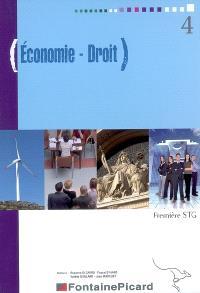 Economie droit, première STG