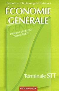 Economie générale Terminale STT