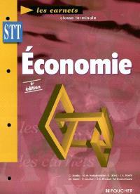 Economie terminale STT : économie générale, économie d'entreprise
