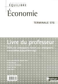 Economie, terminale STG