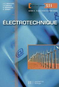 Electrotechnique, 1re STI génie électrotechnique