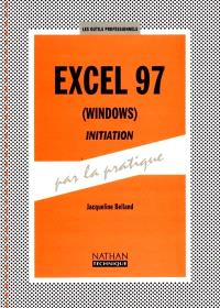 Excel 7 (Windows), initiation : livre de l'élève